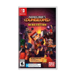 Jogo Minecraft Dungeons (Hero Edition) - Switch