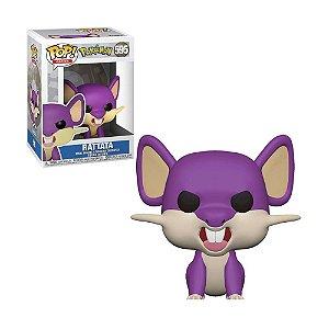 Boneco Rattata 595 Pokémon - Funko Pop!