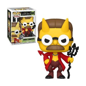 Boneco Devil Flanders 1029 The Simpsons Treehouse Of Horror - Funko Pop!