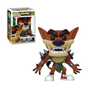 Boneco Tiny Tiger 533 Crash Bandicoot - Funko Pop!