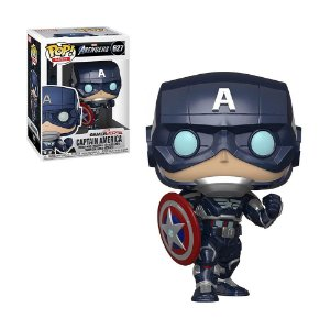 Boneco Captain America 627 Avengers - Funko Pop!