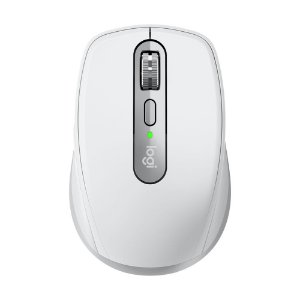 Mouse Logitech MX Anywhere 3 Cinza Claro 4000 DPI sem fio