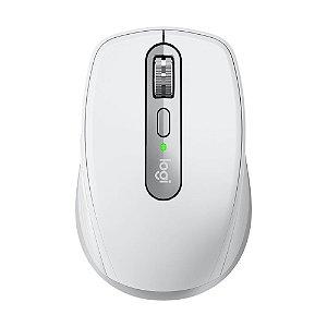 Mouse Logitech MX Anywhere 3 Cinza Claro 4000 DPI sem fio