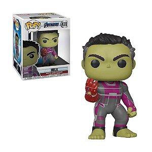 Boneco Hulk 478 Avengers Endgame - Funko Pop!