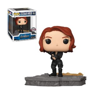 Boneco Black Widow 588 Avengers Deluxe (Special Edition) - Funko Pop!