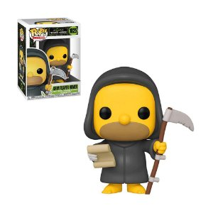 Boneco Grim Reaper Homer 1025 The Simpsons Treehouse Of Horror - Funko Pop!