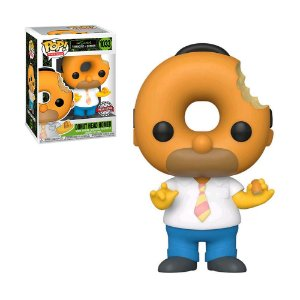 Boneco Donut Head Homer 1033 The Simpsons Treehouse Of Horror (Special Edition) - Funko Pop!