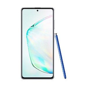 "Smartphone Samsung Galaxy Note 10 Lite 128GB 12MP Tela 6.7"" Aura Glow"