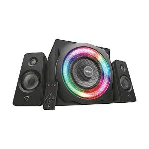 Caixa de Som Trust Tytan 2.1 GXT 629 RGB Illuminated 120W com fio