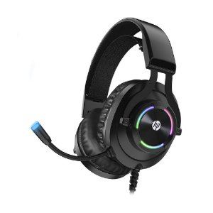 Headset Gamer HP H360GS 7.1 Preto LED RGB com fio - PC