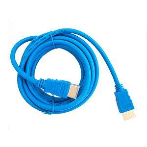 Cabo HDMI Kolke Azul 1.8m 1.4v / 19pm
