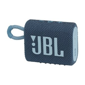 Caixa de Som JBL Go 3 Azul Bluetooth
