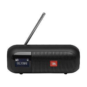 Caixa de Som JBL Tuner 2 FM Preto Bluetooth