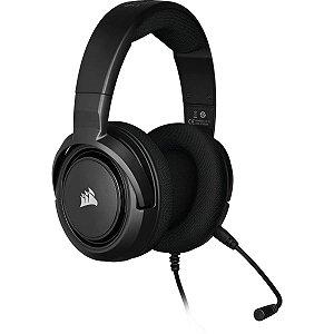 Headset Gamer Corsair HS35 Stereo Carbon com fio - Multiplataforma