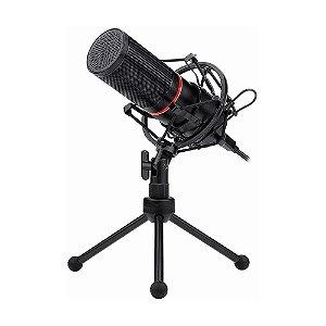 Microfone Condensador Redragon Blazar GM300 - PC