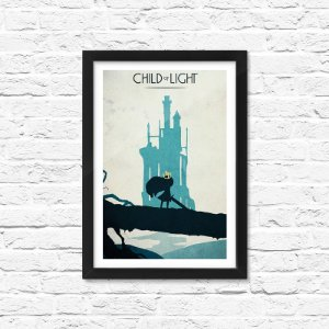 Pôster Emoldurado ShopB Child of Light