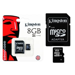 Cartão de memória Kingston Micro SD 8 GB