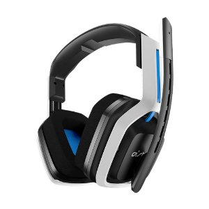 Headset Gamer Astro A20 Wireless Branco e Azul - Multiplataforma