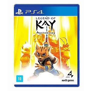 Jogo Legend of Kay: Anniversary - PS4