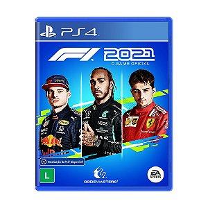 Jogo F1 2021 - PS4