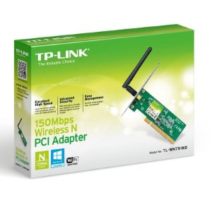 Adaptador Wireless TP-Link PCI - 150 Mbps