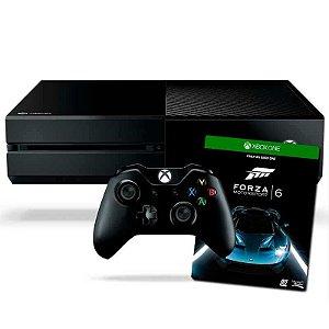 Console Xbox One 500 Gb + Jogo Forza Motorsport 6 - Microsoft