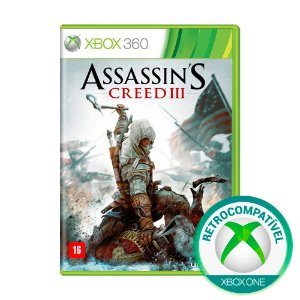 Jogo Assassin's Creed III - Xbox 360