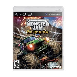Jogo Monster Jam: Path of Destruction - PS3