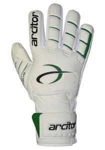 Luvas de Goleiro Arcitor Tagus Negative (Branco Verde) D-SOFT