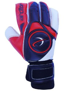 Luvas de Goleiro Arcitor Taganga Finger Protection Hybrid Roll/Flat (Vermelho Branco Preto) GCF Elite