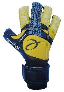Luvas de Goleiro Arcitor Ucayali Roleto  (Amarelo Preto) SCF Elite Preto Edição Especial para dedos grandes