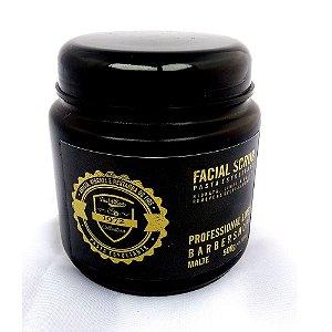 Pasta esfoliante para o rosto, Facial Scrub Barber Shop Profissional Fuel4Men 500g