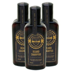KIT 3 Shampoo Mentolado para Barba FUEL4MEN