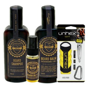 Kit cuidados com a Barba sport unhex