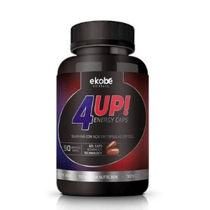 4Up energético com guaraná e açaí 500mg 90 cap