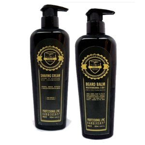 Kit Profissional para barbearia shaving+balm Fuel4Men 350ml