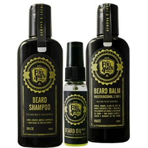 KIT Basico para Barba FUEL4MEN