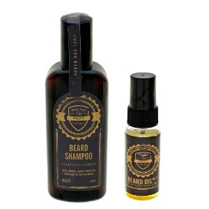 Kit para barba - Shampoo+Óleo Fuel4men