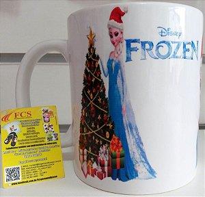Caneca Personalizada Natal Frozen