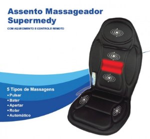 Assento Massageador - SUPERMEDY