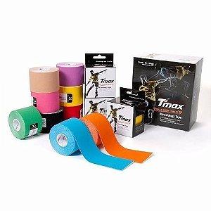 Bandagem Elástica Adesiva Tmax Kinesiology Tape