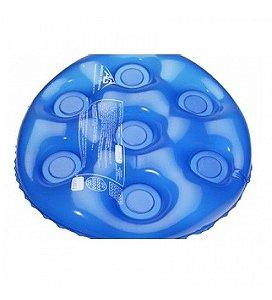 Almofada Caixa de Ovo Forração Ortopédica Inflável Redonda -1009 - Flexconfort