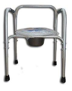 Cadeira de Banho em Alumínio com Braço