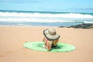 Toalha Redonda Kiwi - 100% Algodão