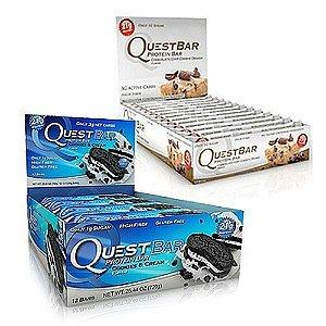 Quest Bars - 2 caixas com 12 unidades cada caixa - R$ 97,50 cada