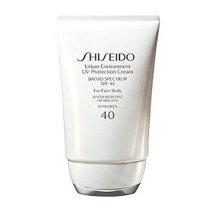 Protetor Solar Rosto e Corpo - Shiseido - FPS 40