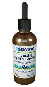 Melatonina Líquida Life Extension 3mg - 59ml - Fast Acting