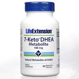 7 Keto DHEA  100mg Life Extension 60 caps