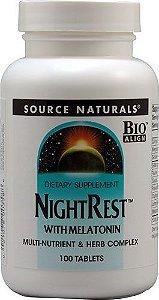 Night Rest c/ Melatonina - 100 tablets