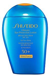 Protetor Solar Rosto e Corpo - Shiseido - À Prova D''agua  - FPS 50+ 97.5ml